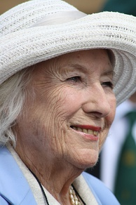 "English singer Vera Lynn is widely acknowledged as the ""Forces Sweetheart"" for her services during the Second World War."