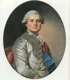 Louis Stanislas, Count of Provence, during the reign of Louis XVI of France.