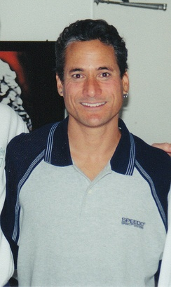 Olympic diver winner Greg Louganis