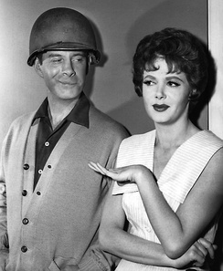 With Cara Williams in Pete and Gladys