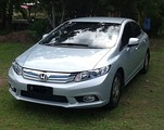 Front view of 2013 Civic Hybrid (Thailand)