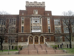 Jarvis Collegiate Institute is one of several public secondary schools located in Old Toronto.