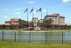 Laredo Medical Center, formerly Mercy Hospital, is the largest hospital in Laredo.