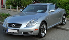 2005–2010 Lexus SC 430 (Germany)