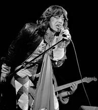 Jagger in 1976