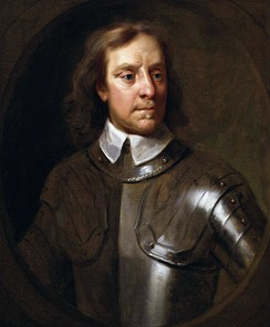 Oliver Cromwell, under whose Commonwealth regime most Catholic land in Ireland was confiscated