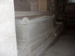 Tomb of Victor Hugo at the Panthéon