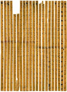 The Tsinghua Bamboo Slips, containing the world's earliest decimal multiplication table, dated 305 BC