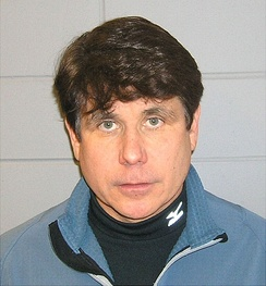 U.S. Marshals photo of Blagojevich on the day of his arrest