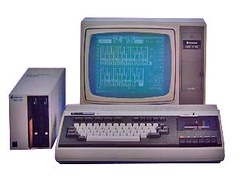 The SPC-1000, introduced in 1982, was Samsung's first personal computer (Korean market only) and used an audio cassette tape to load and save data – the floppy drive was optional[22]