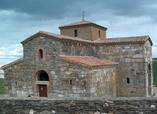 San Pedro de la Nave, one of the oldest churches in Spain.