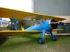 Boeing Stearman PT-17, Museum of Historical Studies Institute of Aerospace in Perú - Lima.
