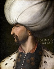 Portrait of Suleiman the Magnificent by Cristofano dell'Altissimo