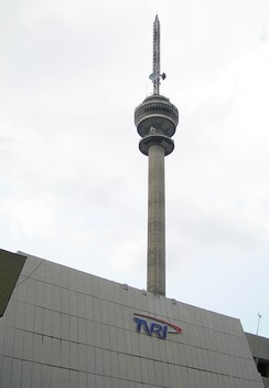 The TVRI Tower in Senayan, South Jakarta
