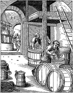 A 16th-century brewery