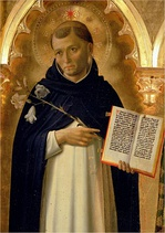 St Dominic, after whom the country is named
