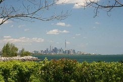 Humber Bay Park is one of several municipal urban parks in Etobicoke.