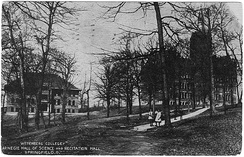 Carnegie Hall of Science and Recitation Hall (1911 Postcard)