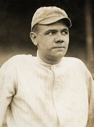 Babe Ruth in 1915