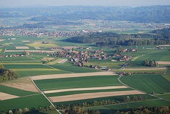 Iffwil, Jegenstorf and surrounding fields