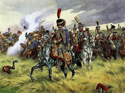 French 9th Hussar by Victor Huen