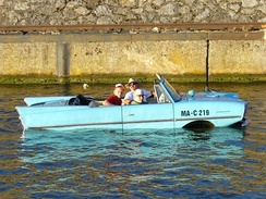 Amphicar in Stuttgart, 2005