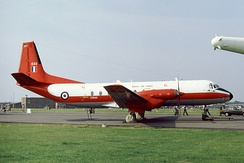 A Hawker Siddeley Andover E.3A of No. 115 Squadron which was based at RAF Benson during the 1980 and 90s