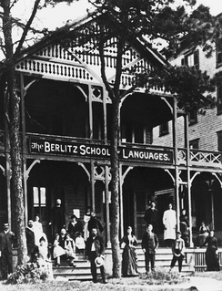 The first Berlitz Language School in Providence, Rhode Island (1878)[2]