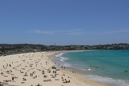 Bondi Beach is one of the most visited tourist sites in Australia.