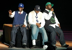 Boyz II Men at the Genting Highlands, Malaysia in 2007.