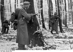 StG 44 equipped Volksgrenadiers fighting in the Ardennes, December 1944