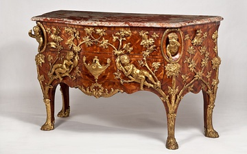 Commode by Charles Cressent (1730), Waddleston Manor