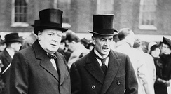 Churchill and Neville Chamberlain, the chief proponent of appeasement.