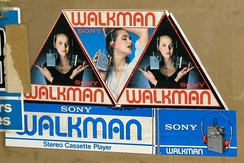 Classic Walkman advertising