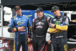 Pastrana, Colin McRae and Ken Block at X Games XIII.