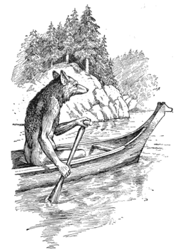Artistic interpretation of Coyote