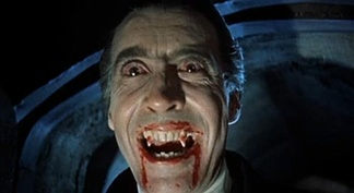 Christopher Lee portrayed Dracula in nine films