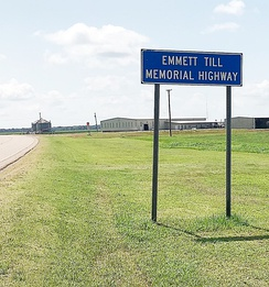 Emmett Till Memorial Highway, US 49E, Tutwiler, Mississippi, 2019