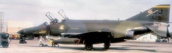 F-4E-61-MC Phantom 74-1629 of the 336th Tactical Fighter Squadron, 1984.