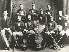The first Stanley Cup Champions were the Montreal Hockey Club (affiliated with the Montreal Amateur Athletic Association).