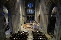 Funeral of President Ford in the National Cathedral.