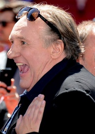 Depardieu at the 2015 Cannes Film Festival