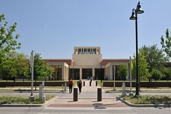 George W. Bush Presidential Center on the campus of Southern Methodist University (SMU) located in University Park, Texas