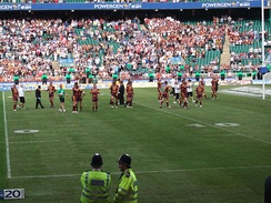 Huddersfield following their defeat to St. Helens in the 2006 Challenge Cup Final