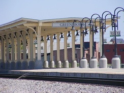 Greensboro's Amtrak Station & Rail Depot