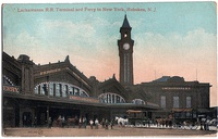 Hoboken Terminal shortly after it opened in 1907