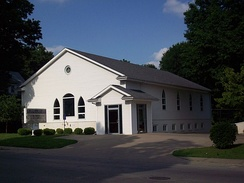 Outreach Restoration Branch, Independence, Missouri. Previously the location of now-defunct Church of Christ (Hancock)