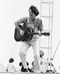 Performing at the Woodstock Reunion 1979 at Parr Meadows in Ridge, New York