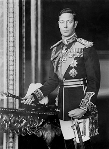 George VI in the uniform of a field marshal