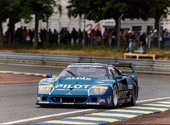 Ferrari F40 in 1995 race
